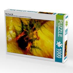 Das Feuer CB Lege-Größe 64 x 48 cm Foto-Puzzle Bild von Digital-Art Puzzle