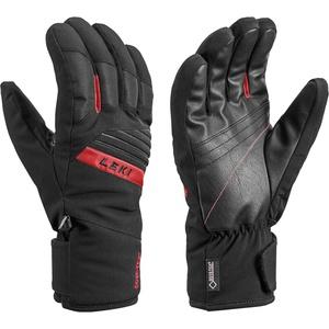 LEKI Unisex-Adult Sports Skistock, Black-Red, 10.0