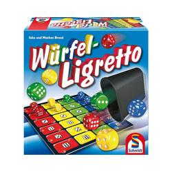 Schmidt Spiele Spiel, Würfel-Ligretto®