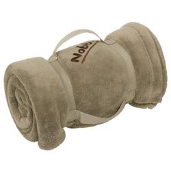 Nobby Hundedecke Fleece Plaid Soft taupe