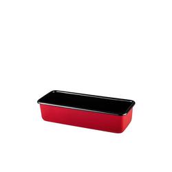 Riess Backform Königskuchenform rechteckig Color-Rot, Backform