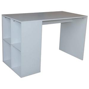 HTI-Line Regal-Schreibtisch Schreibtisch Thekla Weiß, Schreibtisch