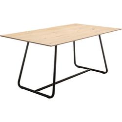 GWINNER Esstisch Style, mit Metallgestell 180 cm x 76 cm x 100 cm