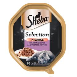 SHEBA Selection in Sauce Kalbshäppchen 22 x 85g