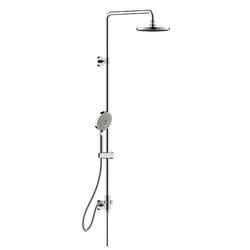 BRAVAT Duschsystem - Set 200 mm + Handbrause - chrom