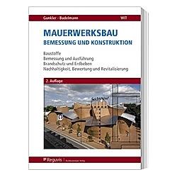 Mauerwerksbau - Buch