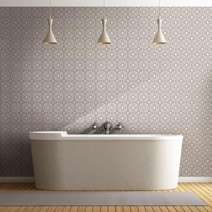 Fliesenaufkleber, selbstklebend, Zementfliesen-Aufkleber, Wanddekoration, Fliesenaufkleber für Bad und Küche, 20 x 20 cm, 60 Stück