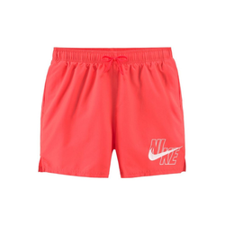 Nike Badeshorts, mit Markenlogo am Bein rot S
