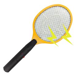 Elektrische Fliegenklatsche / Insektenvernichter gelb