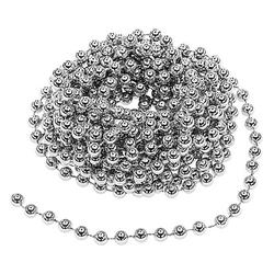 Perlenkette, silber, 10 m
