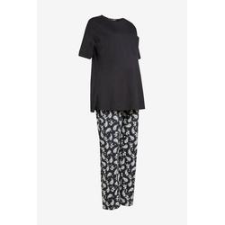 Next Umstandspyjama Baumwoll-Pyjama, Umstandsmode (2 tlg) S