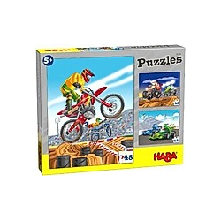 HABA Puzzles Motorsport (Kinderpuzzle)