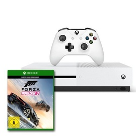 Microsoft Xbox One S 500GB weiß + Forza Horizon 3 (Bundle)