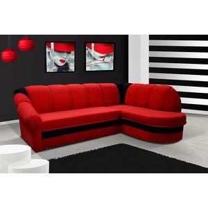 Design Schlafsofas Ecksofa Bettfunktion Couch Leder Textil Polster Sofas Sofa
