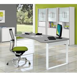 Arbeitsplatz Schreibtisch Freiform Lauka