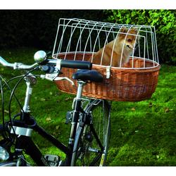 Hunde Fahrradkorb XXL für Gepäckträger, XXL: L 70 cm x B 50 cm x H 22/42 cm