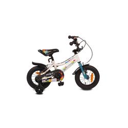 Byox Kinderfahrrad Kinderfahrrad 12 Zoll Prince, 1 Gang 1 Gang, keine, sportliches Design, Stützräder, Kettenschutz