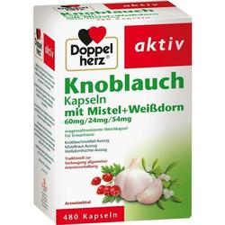 Doppelherz Knobl. Kap.m.Mistel+Weißdorn 60/24/54mg