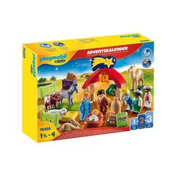 Playmobil® Spielwelt PLAYMOBIL® 70259 - 1•2•3 - Christmas - Adventskalender - Weihnachtskrippe