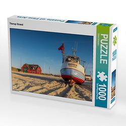 Thorup Strand Lege-Größe 64 x 48 cm Foto-Puzzle Bild von Oliver Schwenn Puzzle
