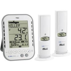 TFA Dostmann KLIMALOGG PRO Starter Set Luftfeuchtemessgerät (Hygrometer) 1% rF 99% rF Raumklima Sta