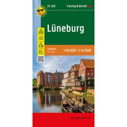 Lüneburg Stadtplan 1:14.000