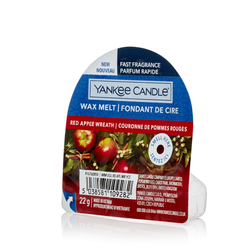 YANKEE CANDLE Wax Melt RED APPLE WREATH 22 g Duftwachs