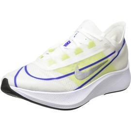 Nike Zoom Fly 3 W white/racer blue/cyber/metallic silver 38