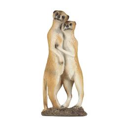 1PLUS Gartenfigur 1PLUS Erdmännchen Paar, aus Polyresin