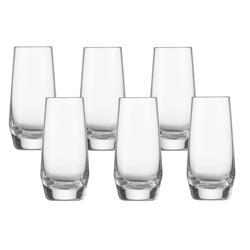 SCHOTT ZWIESEL Serie PURE Shotglas 6 Stück Inhalt 94 ml Schnapsglas