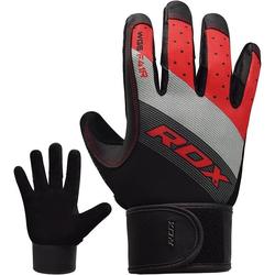 RDX F41 Fitness Handschuhe (Größe: S, Farbe: Rot)