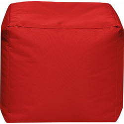 Sitting Point Sitzsack Cube SCUBA rot