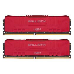 Crucial Ballistix Rot 16GB Kit (2x8GB) DDR4-3600 CL16 Gaming-Arbeitsspeicher