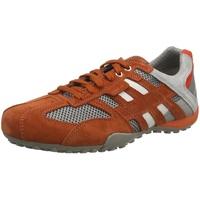 GEOX Snake Sneaker in orange