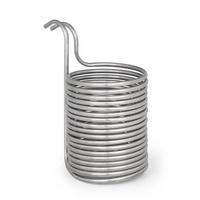 Klarstein Chiller 12 Eintauchkühler Ø21,5 cm 18 Schleifen 304 Edelstahl