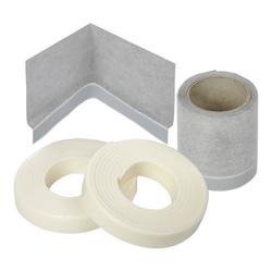 poresta 3D Wannenrand-Dichtset für Wand-, Bade- und Duschwannenecke