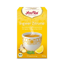 YOGI TEA Ingwer Zitrone Bio Filterbeutel 17X1.8 g