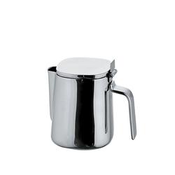 Alessi Milchkännchen Milchkännchen mit Deckel Edelstahl poliert 20cl, 0.2 l