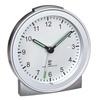 TFA Dostmann 60.1517.54 Funk Wecker Silber Alarmzeiten 1 Fluoreszierend Zeiger