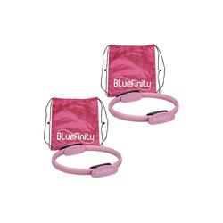 relaxdays Pilates-Ring 2 x Pilates Ring pink
