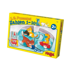 Haba Puzzle HABA 7468 1, 2, Puzzelei - Zahlen 1 - 10, Puzzleteile