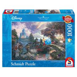 SCHMIDT SPIELE (UE) Cinderella Disney Puzzle Mehrfarbig