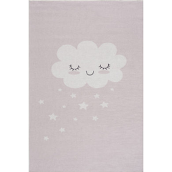 LIVONE Kinderteppich Happy Rugs CLOUD rosa 90 x 160 cm