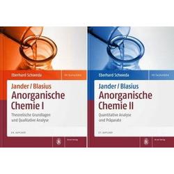 Package: Jander/Blasius, Anorganische Chemie I + II