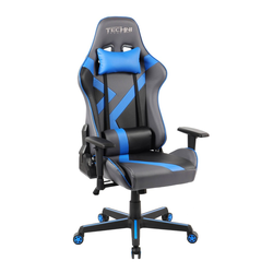 Office PC Gaming Chair Blue - Techni Sport