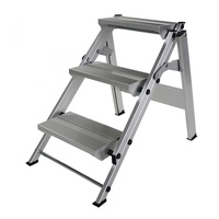 Günzburger Aluminium-Klapp-Treppe 3 Stufen (55003)