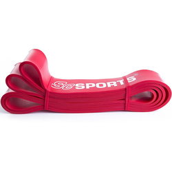 ScSPORTS® Fitnessband Fitnessband 208 x 4,5 cm rot