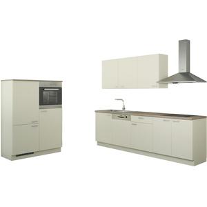Küchenzeile ohne Elektrogeräten  Chemnitz ¦ creme