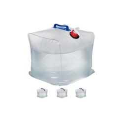 relaxdays Kanister 4er Set faltbare Wasserkanister 20 L