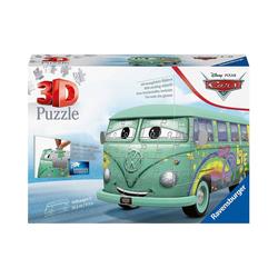 Ravensburger 3D-Puzzle 3D-Puzzle Volkswagen T1 Cars Fillmor, 162 Teile, Puzzleteile
